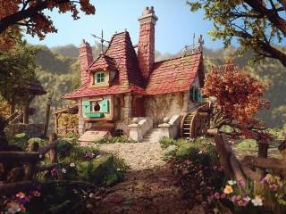 Собирать пазл House Belle онлайн