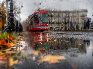 Собирать пазл Rainy day онлайн