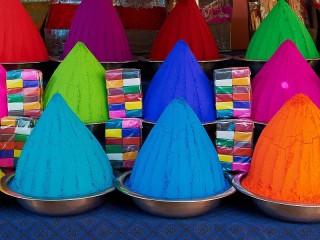 Собирать пазл Festival Holi онлайн
