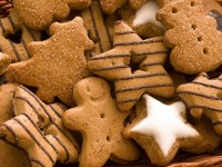 Собирать пазл Curly biscuits онлайн