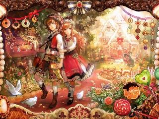 Собирать пазл Hansel and Gretel онлайн