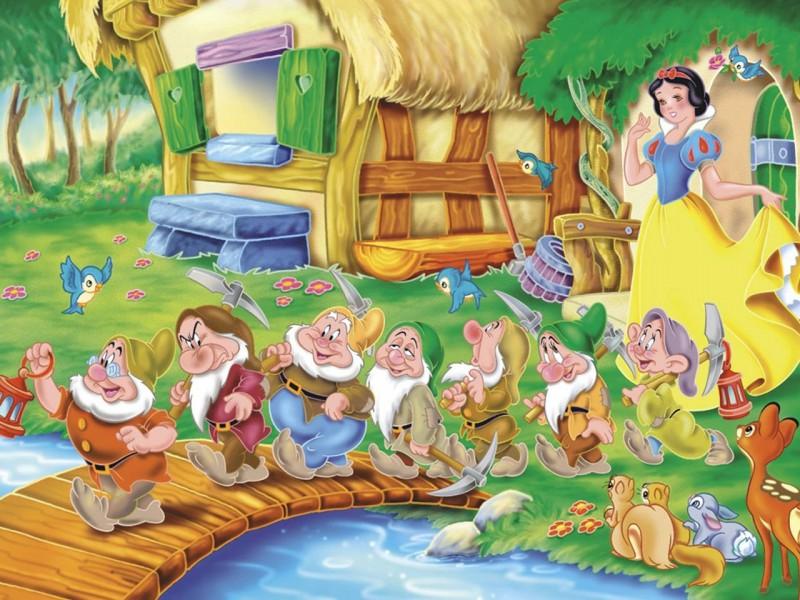 O quebra-cabeça Recolher o quebra-cabeças on-line - Dwarves on bridge