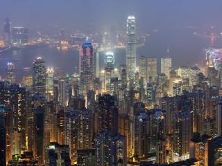 Собирать пазл Hong Kong онлайн