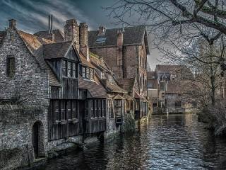 Собирать пазл Bruges онлайн