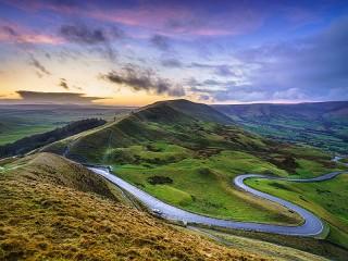 Собирать пазл Derbyshire онлайн