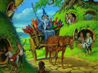 Собирать пазл Shire онлайн
