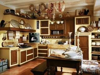 Собирать пазл Kitchen interier онлайн