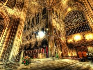 Собирать пазл The interior of the Cathedral онлайн