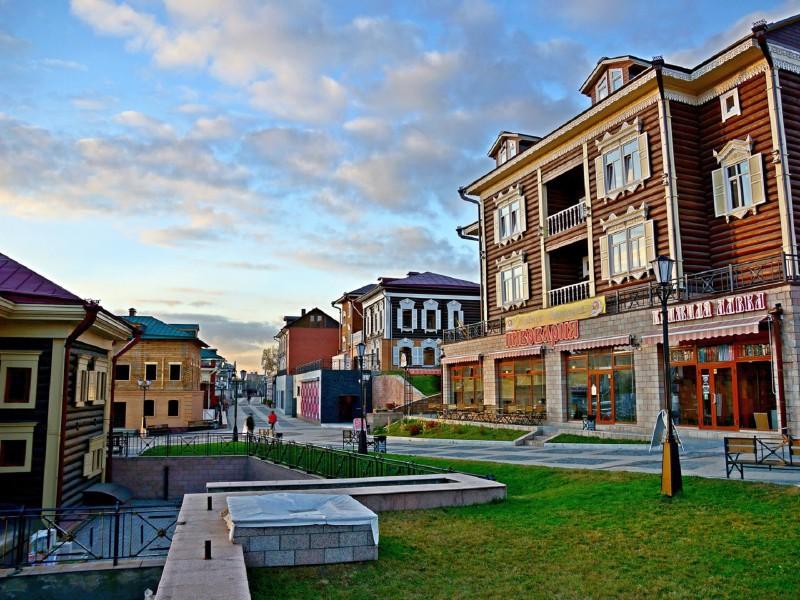 O quebra-cabeça Recolher o quebra-cabeças on-line - Irkutsk quarter