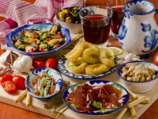 Собирать пазл Spanish cuisine онлайн