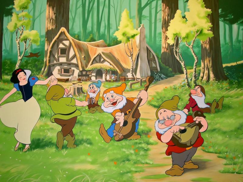 O quebra-cabeça Recolher o quebra-cabeças on-line - Picture of snow white