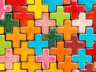 Собирать пазл Ceramic Tetris онлайн