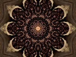 Собирать пазл Coffee kaleidoscope онлайн