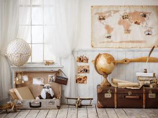 Собирать пазл Traveler room  онлайн