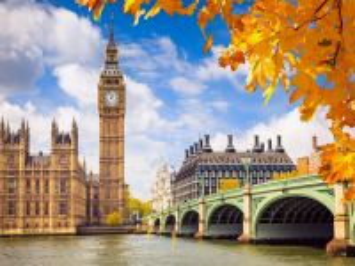 Собирать пазл London osen онлайн