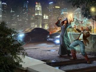 Собирать пазл Magical duel онлайн