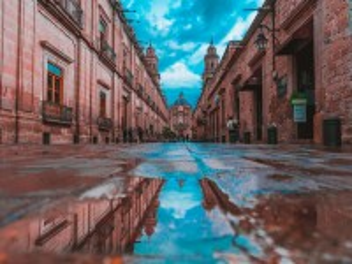 Собирать пазл Mexico city онлайн