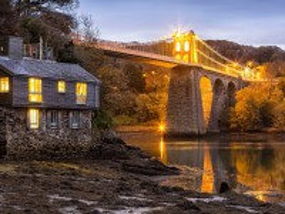 Собирать пазл Bridge in England онлайн