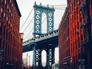 Собирать пазл Most v Nyu-Yorke онлайн