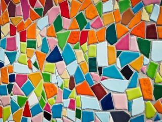Собирать пазл Mosaic wall онлайн