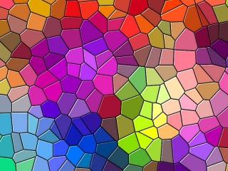Собирать пазл Mosaic stained glass онлайн