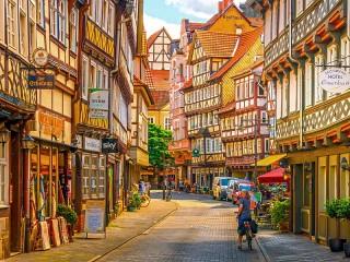 Собирать пазл Munden Germany онлайн