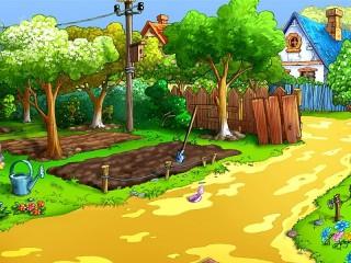 Собирать пазл In the garden онлайн