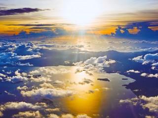 Собирать пазл Nad oblakami онлайн