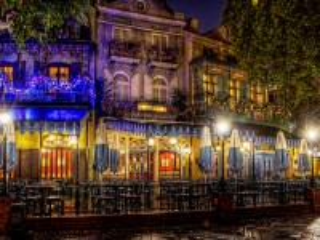 Собирать пазл Night cafe онлайн