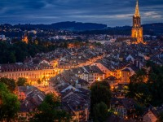 Собирать пазл The Lights Of Bern онлайн
