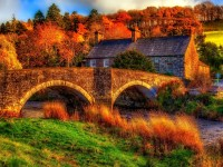 Собирать пазл Autumn in Wales онлайн