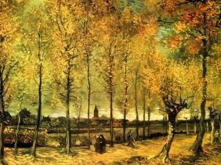 Собирать пазл Autumn Walk онлайн