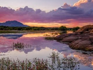 Собирать пазл Lake Willow онлайн