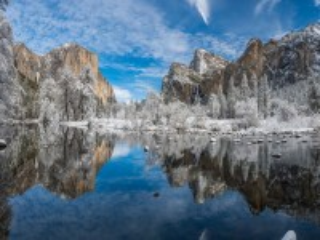 Собирать пазл Yosemite panorama онлайн