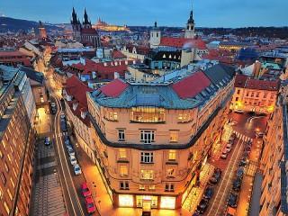 Собирать пазл Panorama Of Prague онлайн