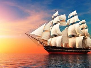 Собирать пазл Sailing-ship онлайн