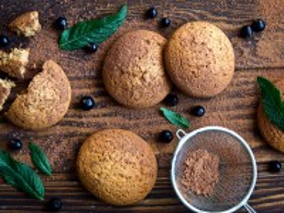Собирать пазл Biscuits with cocoa онлайн