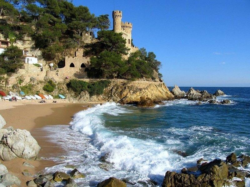 O quebra-cabeça Recolher o quebra-cabeças on-line - Spain coast