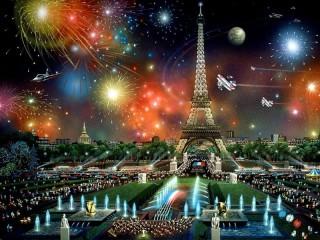 Собирать пазл Holiday in Paris онлайн