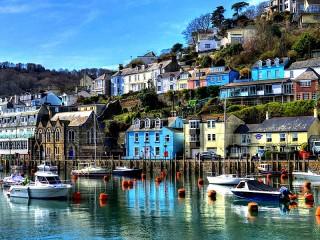 Собирать пазл A pier in England онлайн