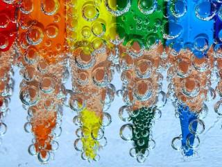 Собирать пазл Rainbow of pencils онлайн