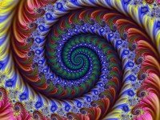 Собирать пазл Raduzhnaya spiral онлайн