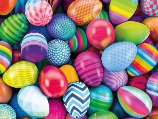 Собирать пазл Colorful shells онлайн