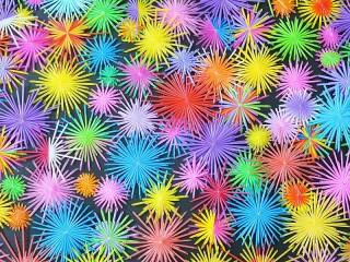 Собирать пазл Colorful stars онлайн
