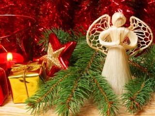 Собирать пазл Christmas angel онлайн