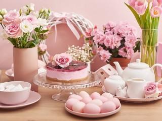 Собирать пазл Pink Easter онлайн