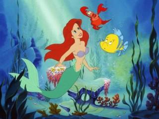 Собирать пазл Mermaid Ariel онлайн