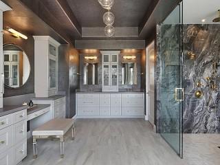 Собирать пазл Grey bathroom онлайн