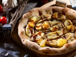 Собирать пазл Sweet pizza онлайн