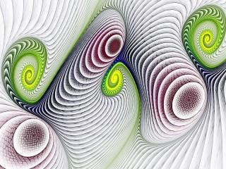 Собирать пазл Spiral онлайн